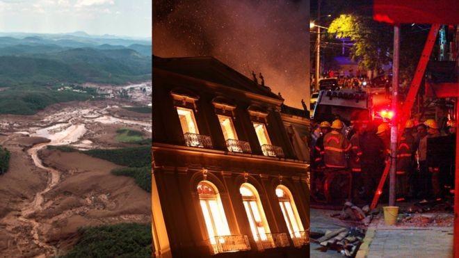Empresas e instituições envolvidas classificaram a situação como meros acidentes (Foto: AFP/REUTERS/AFP/GETTY via BBC)