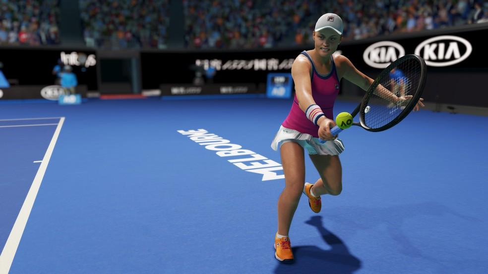 AO Tennis 2 tem campanha envolvente, Aberto da Austrália e estrelas que estarão nas Olímpiadas — Foto: Divulgação/Big Ant Studios