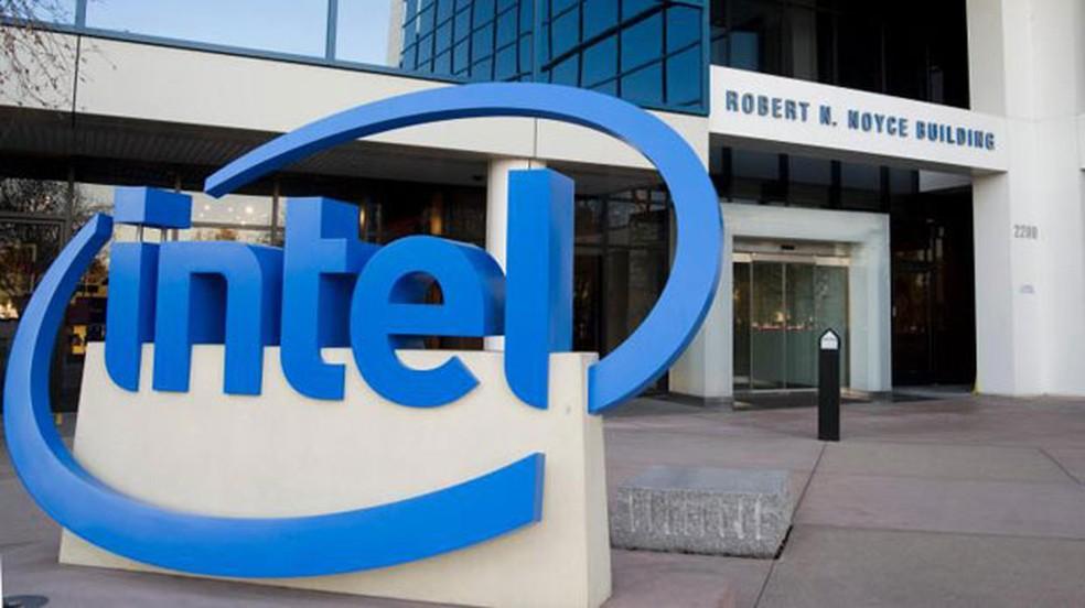 Sede da Intel, na Califórnia (EUA). — Foto: Divulgação/Intel
