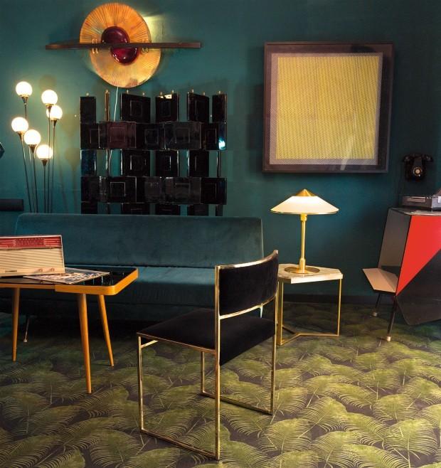 Salon con sillas, lamparas etc.... (Foto: Alfonso Ohnur)