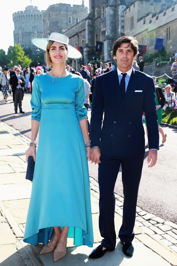 O casal de argentinos Delfina Blaquier e Nacho Figueras (Foto: Getty Images)