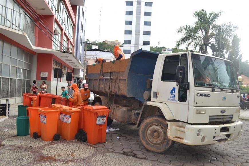 Saae estima economia de recursos públicos com terceirização da frota de coleta de lixo em Viçosa - Notícias - Plantão Diário