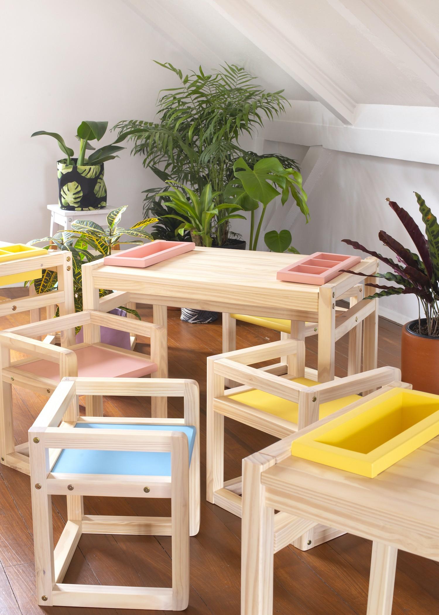 As peças do estúdio Minca oferecem um design lúdico e diferente (Foto: Divulgação / Estudio Minca)