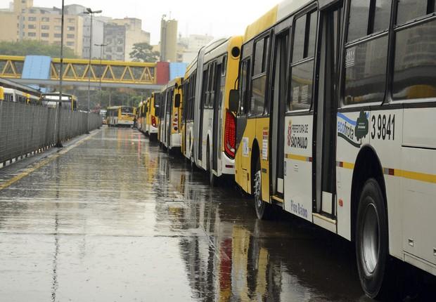 Transporte público ; ônibus em São Paulo ; cobradores e motoristas ;  (Foto: Rovena Rosa/Agência Brasil)