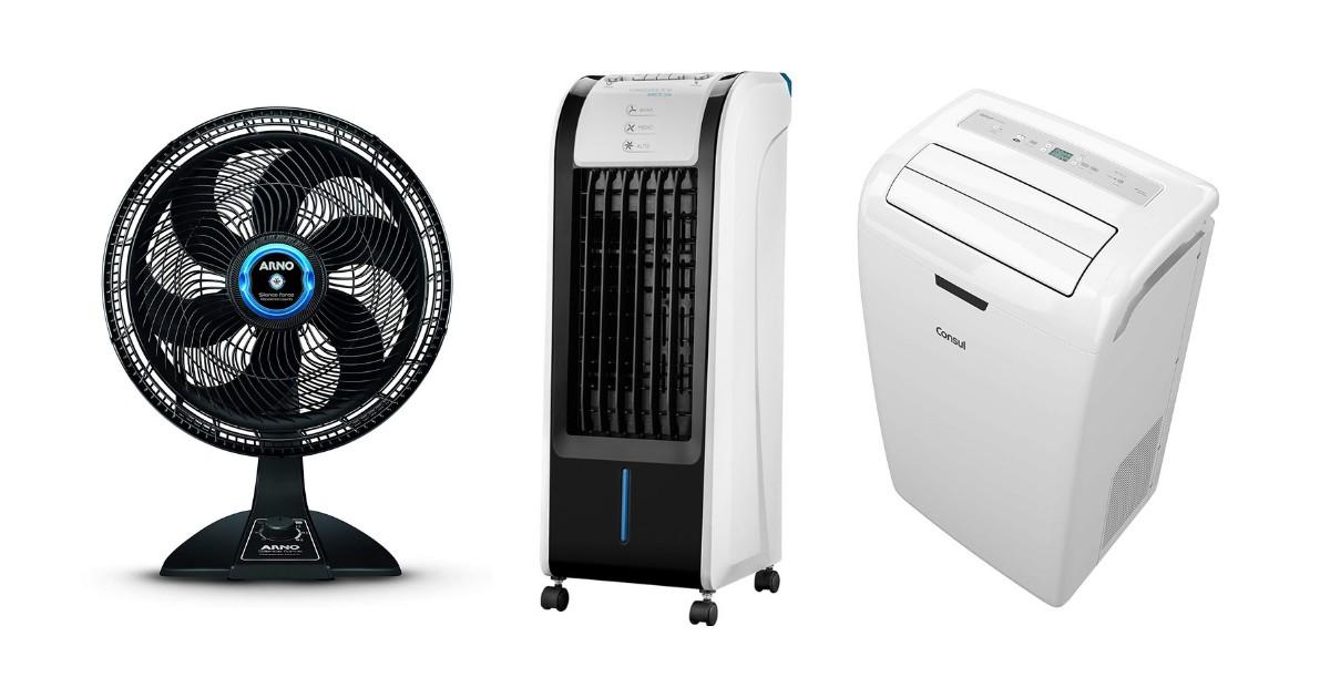 Ventilador, circulador e ar condicionado: como comprar? (Foto: Divulgação)