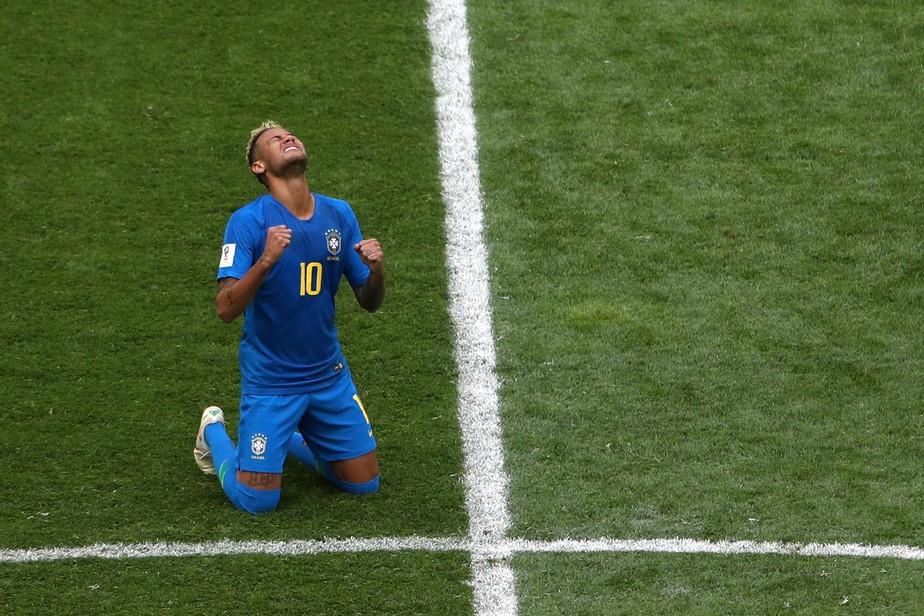 Neymar desabafa após choro: