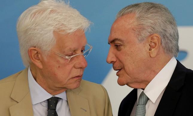 Moreira Franco e Michel Temer