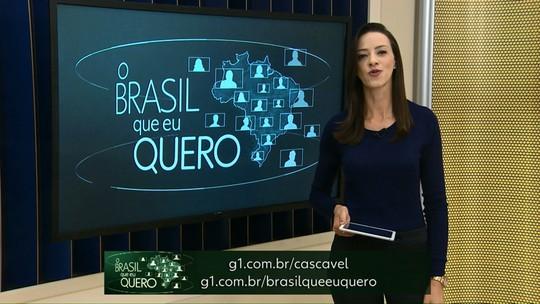 Moradores de Diamante do Sul podem participar da campanha 'Brasil que eu quero'