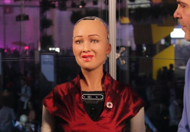 Sophia, robô (Foto: Reprodução)