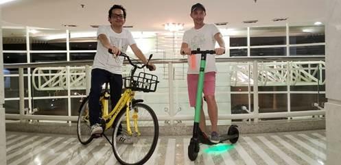Sergio Romo, CEO Global da Grow, e Ariel Lambrecht, diretor de produtos (Foto: Divulgação/Grow)