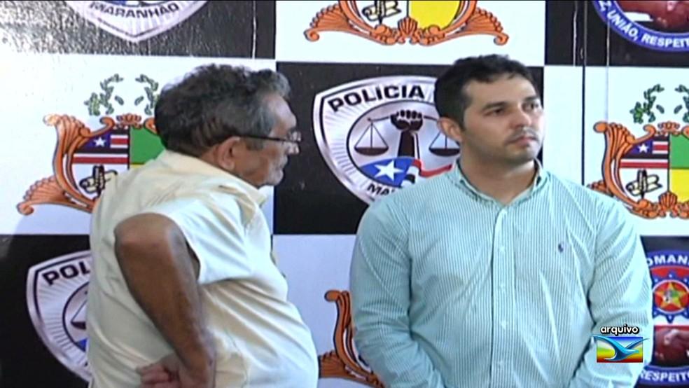 José Alencar Miranda de Carvalho e Gláucio Alencar aguardam a data do julgamento. (Foto: Reprodução/TV Mirante)