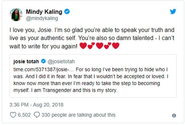 Mindy Kaling (Foto: Twitter)