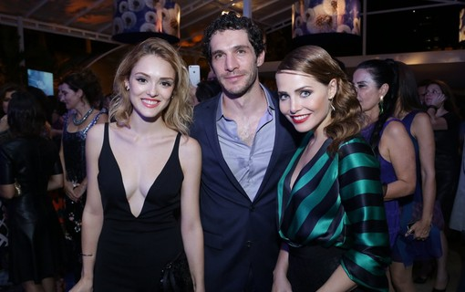 Isabelle Drummond, Michel Noher e Letícia Colin