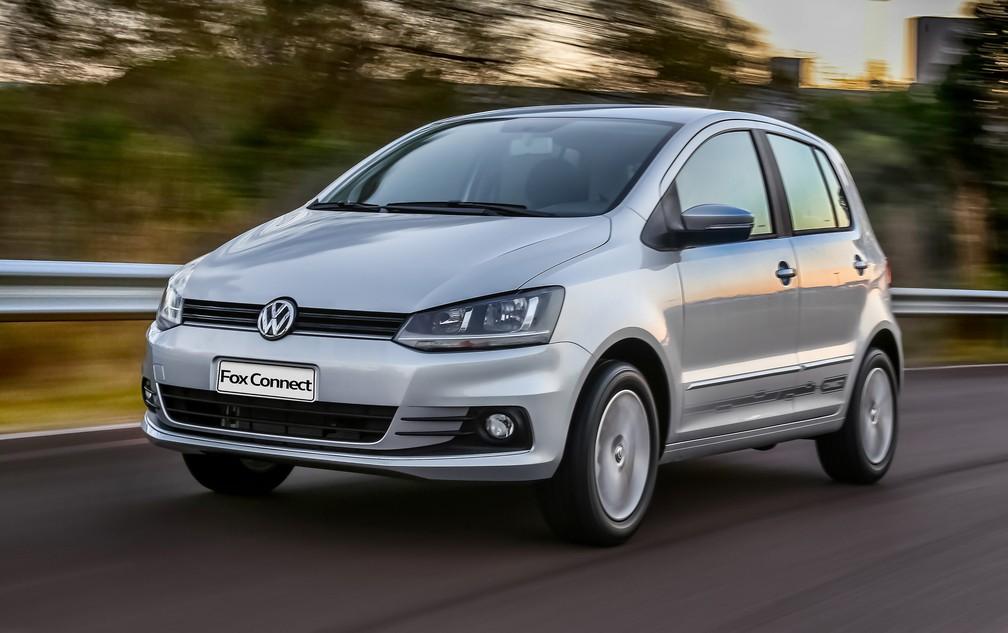 Volkswagen Fox Connect — Foto: Divulgação