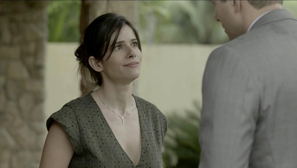 Ela revela que ficou com medo de fazer a denncia aps descobrir que Vincius era delegado Foto TV Globo