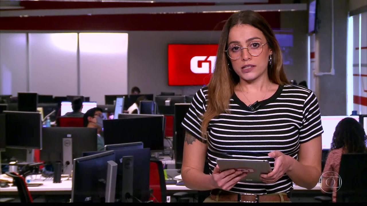 G1 em 1 Minuto: Morre voluntário brasileiro que participava dos testes da vacina de Oxford