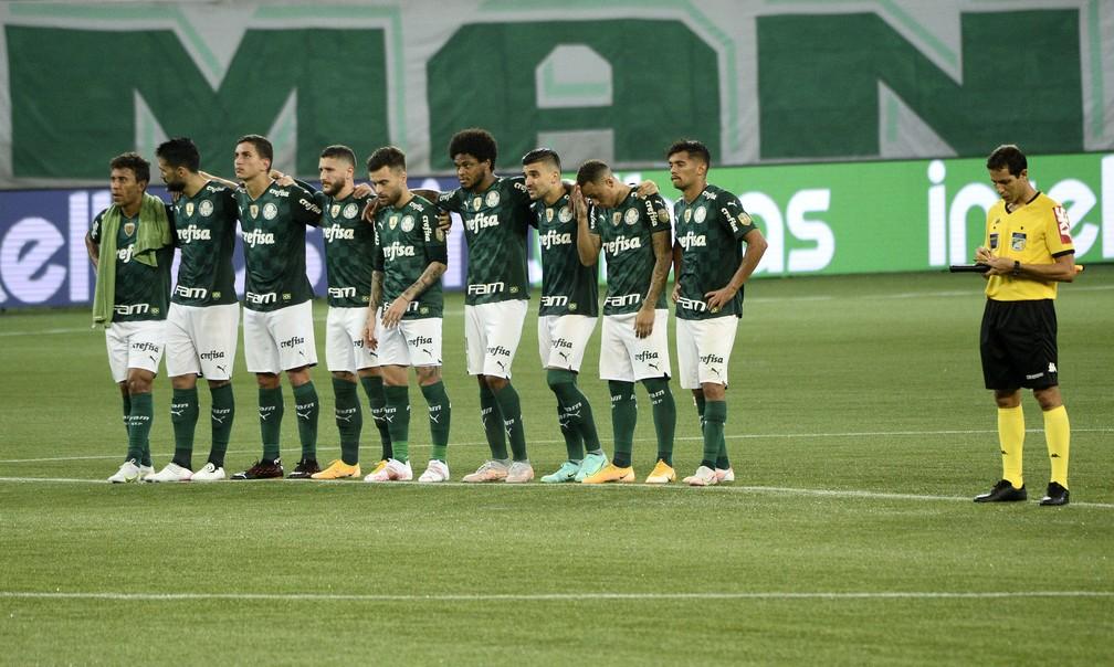Palmeiras perdeu para o CRB nos pênaltis — Foto: Marcos Ribolli