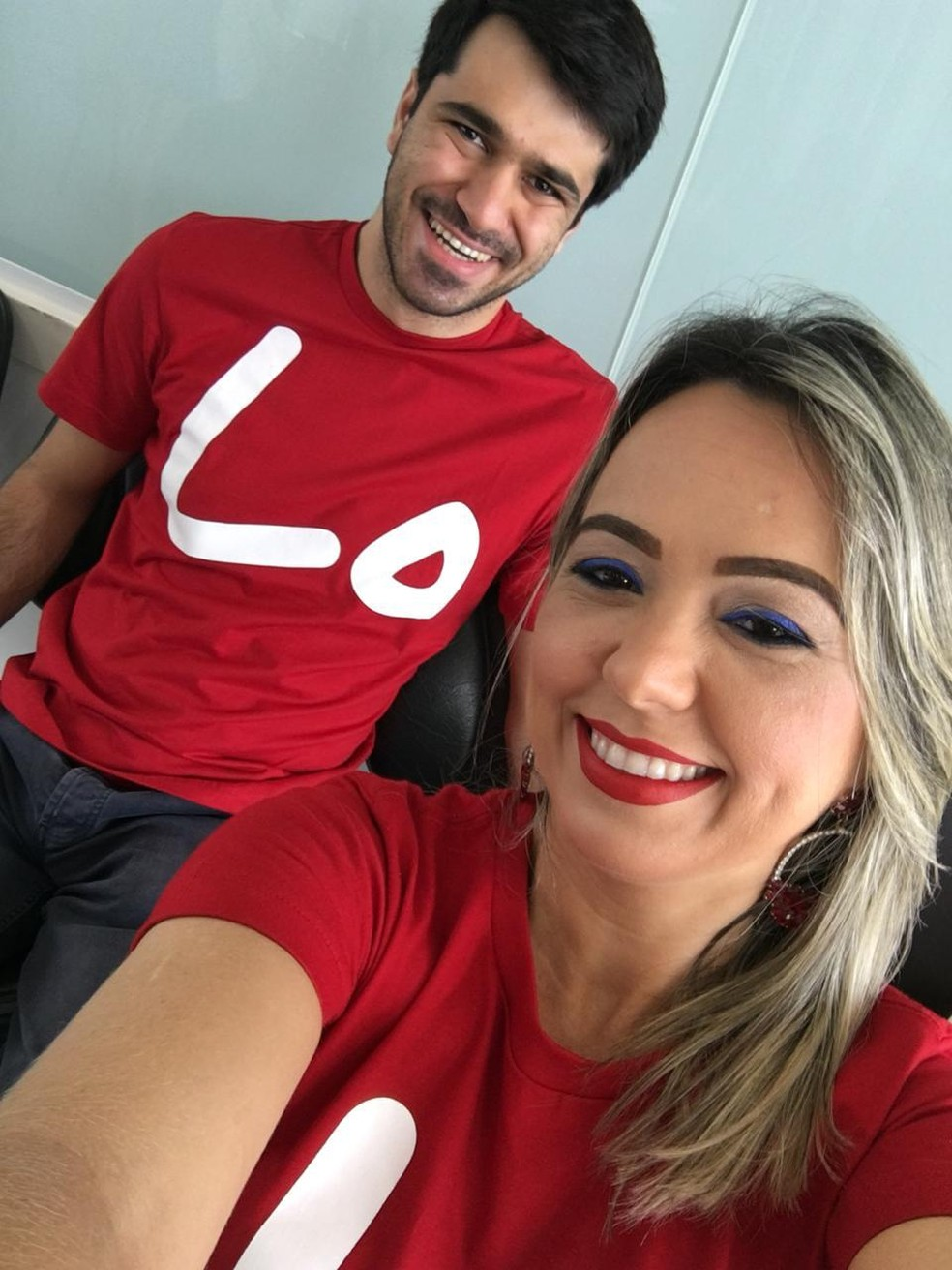 Turco pediu brasileira em casamento no aeroporto de Palmas — Foto: Arquivo Pessoal
