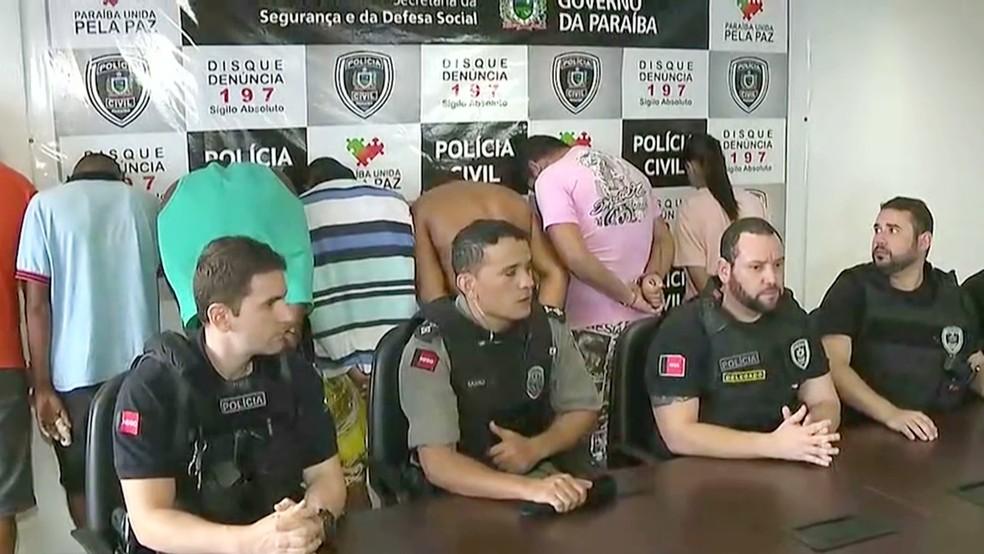 Operação realizada no bairro de Mandacaru resultou em seis prisões e uma apreensão (Foto: Reprodução/TV Cabo Branco )