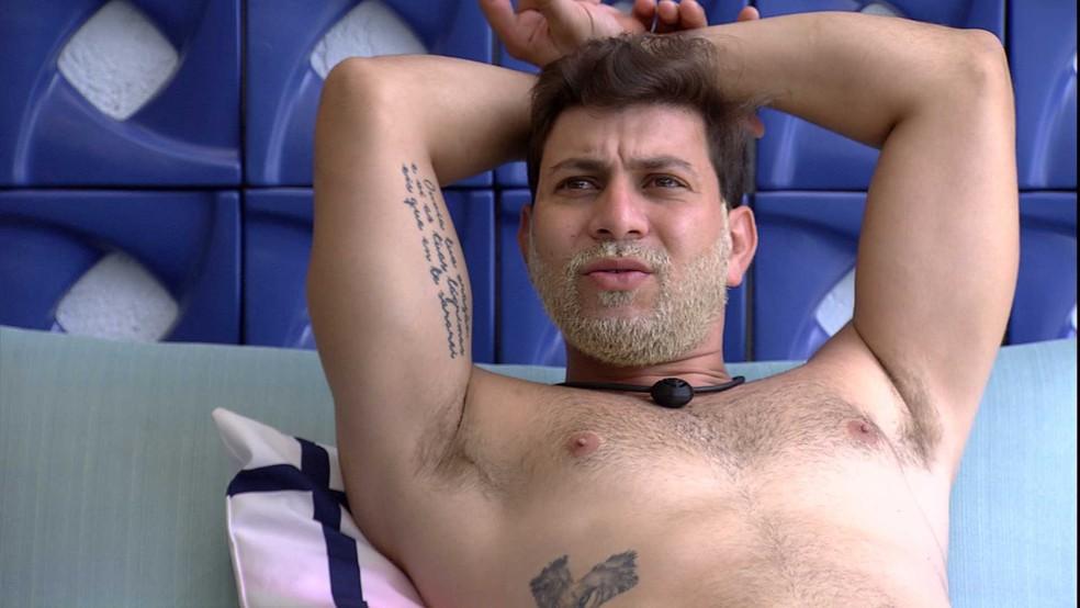Caio fala sobre Fiuk: 'Pagando de bonzão, de grandão' — Foto: Globo