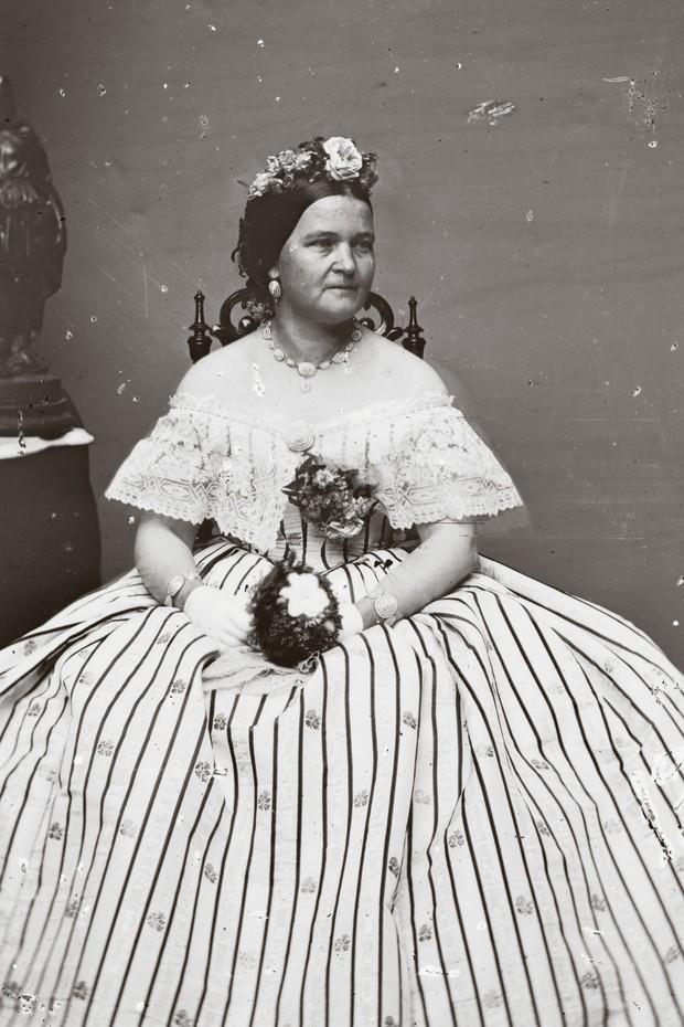 Mary Todd Lincoln usa joias Tiffany (Foto: Divulgação)