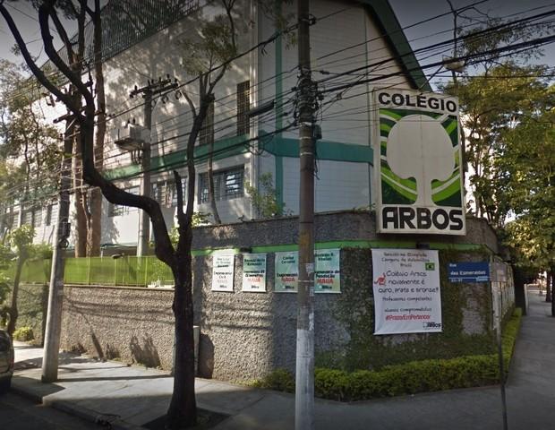 Escola Arbos, em Santo André (Foto: Google)