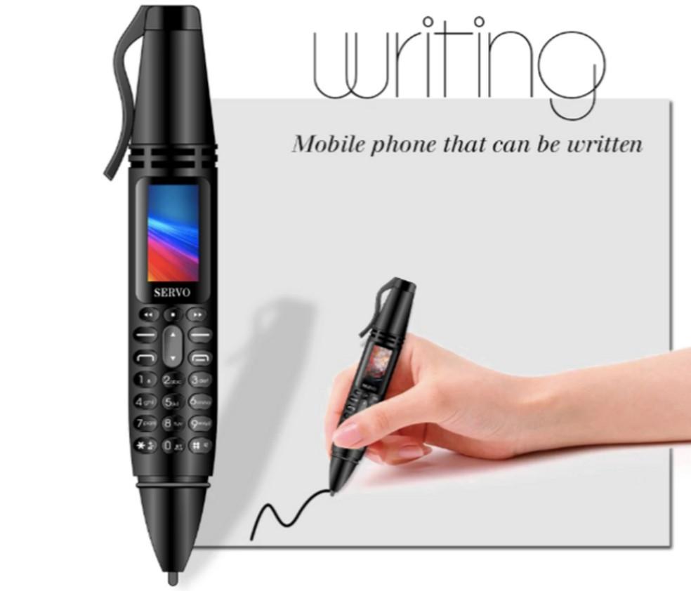Usuário pode utilizar o Servo K07 para escrever — Foto: Reprodução/Ali Express