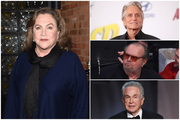 Kathleen Turner, Michael Douglas, Jack Nicholson e Warren Beatty (Foto: Getty Images)
