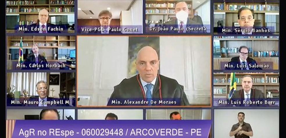 TSE mantém cargos de prefeito e vice de Arcoverde — Foto: Reprodução / TSE