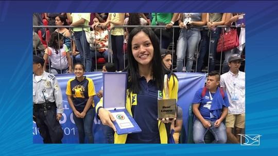 Naemi Vitória é campeã estadual de vôlei pelo São Paulo-Barueri
