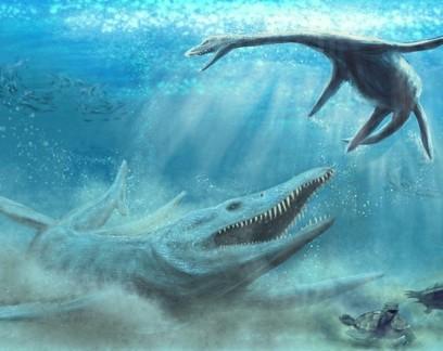 Arqueólogos encontram ossos de enorme predador marinho do Jurássico