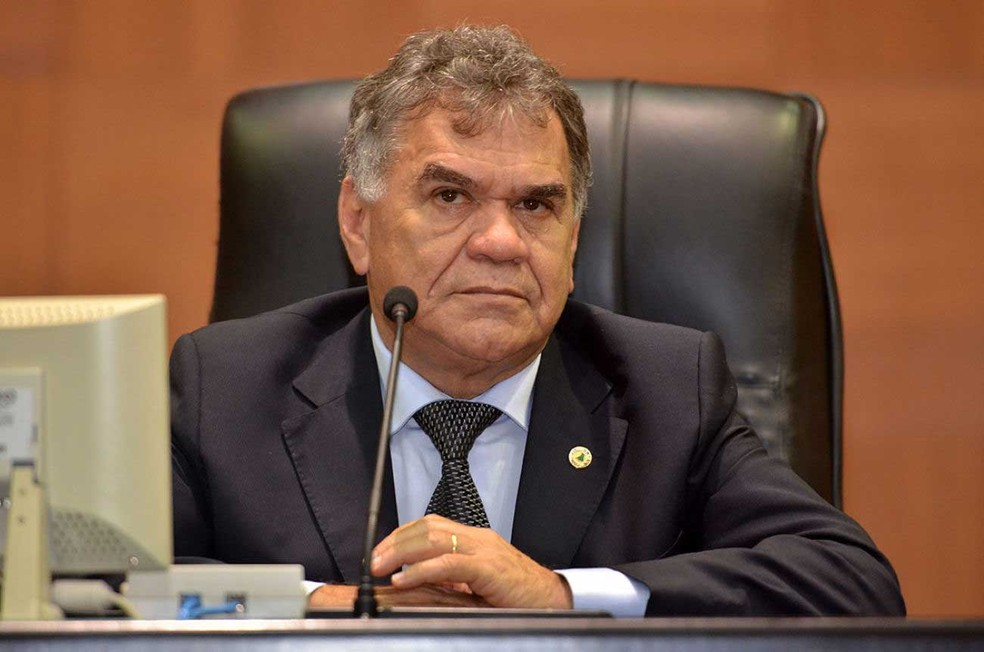 O ex-deputado estadual Hermínio Jota Barreto (PR)  (Foto: Flávio Garcia/ALMT)