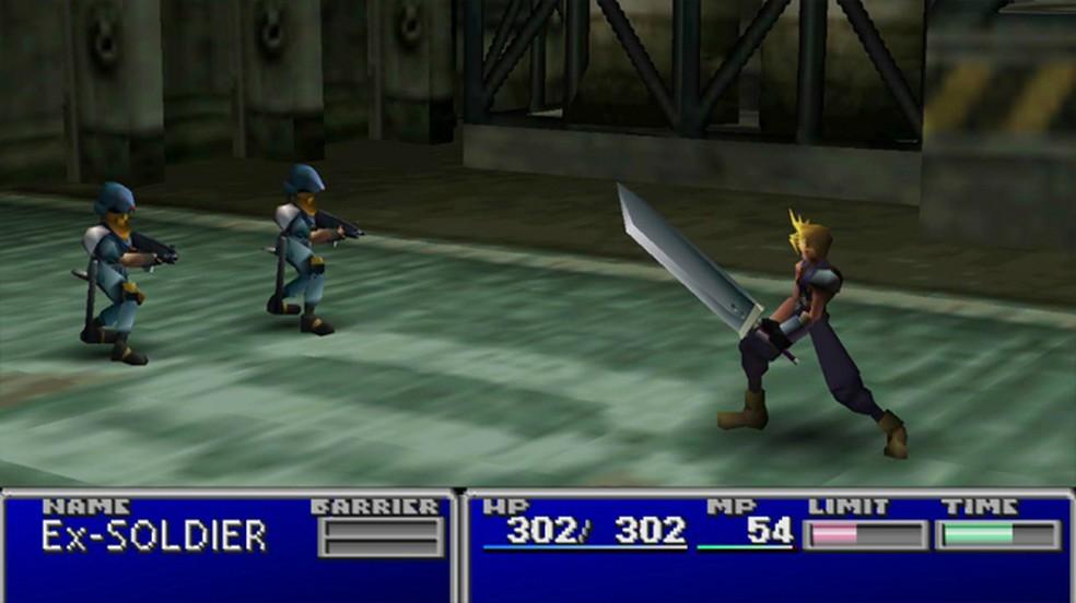 Final Fantasy 7 foi uma das maiores exclusividades do PlayStation One — Foto: Reprodução/Official PlayStation Magazine UK
