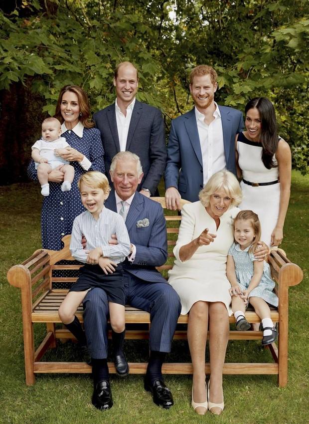 Após selar o matrimônio, a família real leva em média 3,2 anos para ter o primeiro filho, diferente do que acontecera com Meghan Markle e Kate Middleton (Foto: Instagram/ Reprodução)