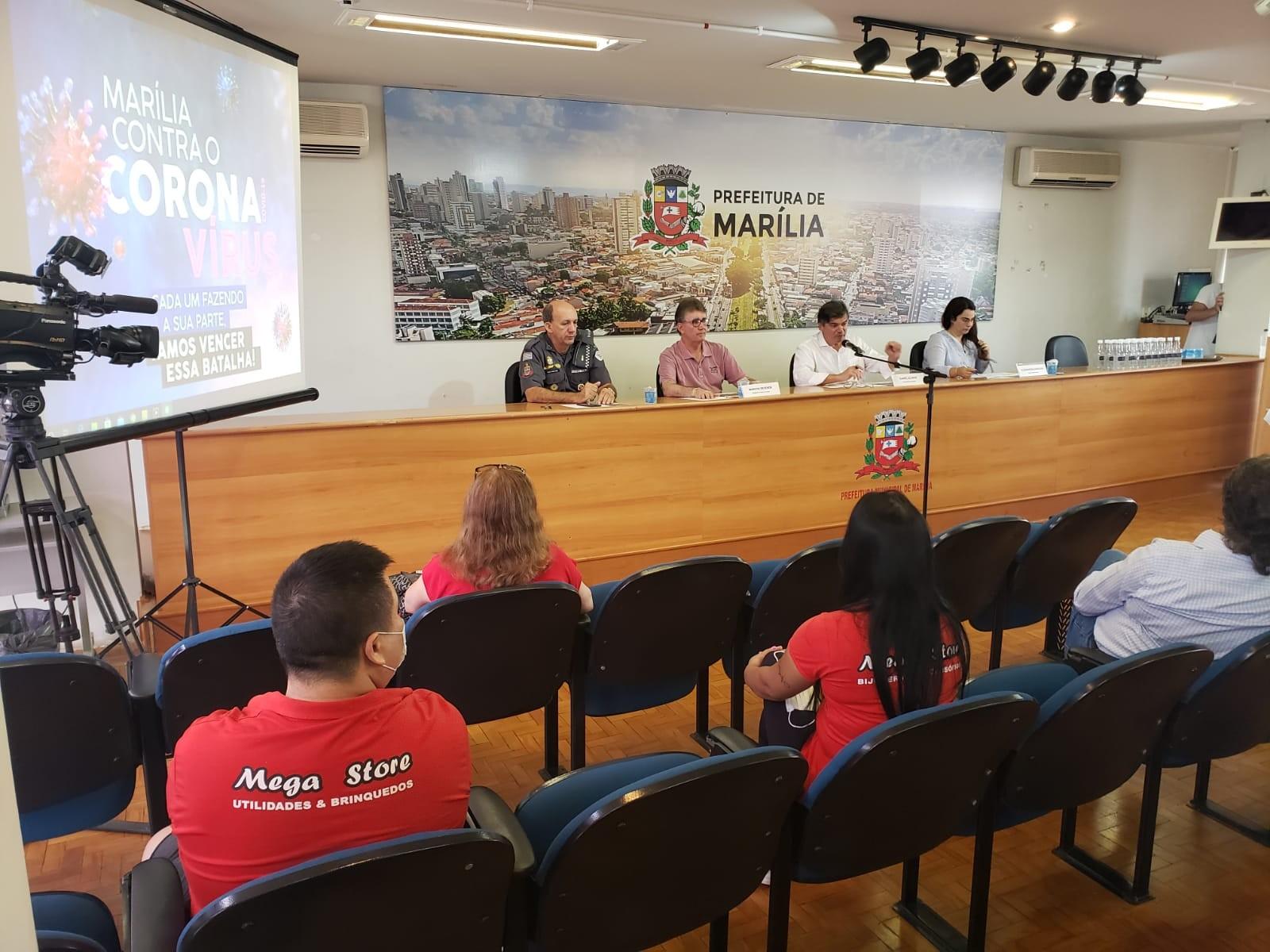 Prefeitura de Marília anuncia novo secretário de saúde e medidas de enfrentamento ao coronavírus