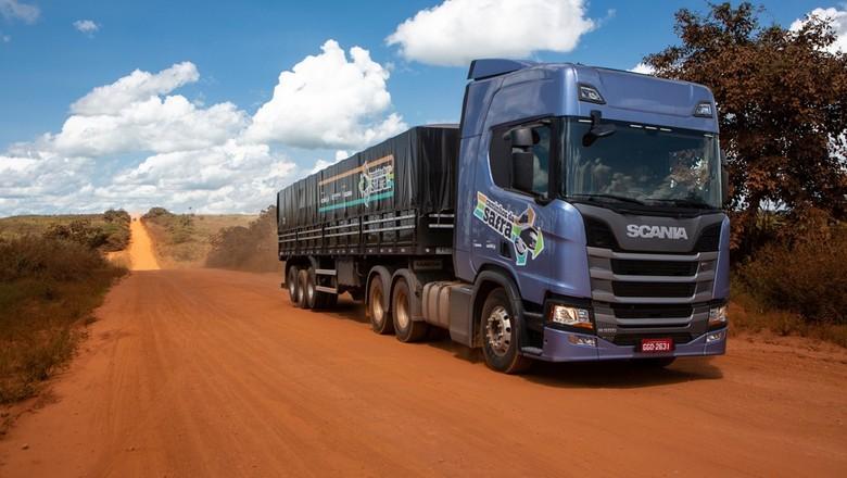 caminhos-da-safra-br-158-estrada-caminhão-rodovia (Foto: Fernando Martinho/Ed.Globo)