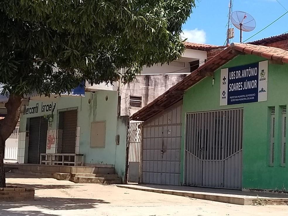 Posto de saúde fica no bairro Bom Jesus, em Mossoró (Foto: Ivanúcia Lopes/Inter TV Costa Branca)