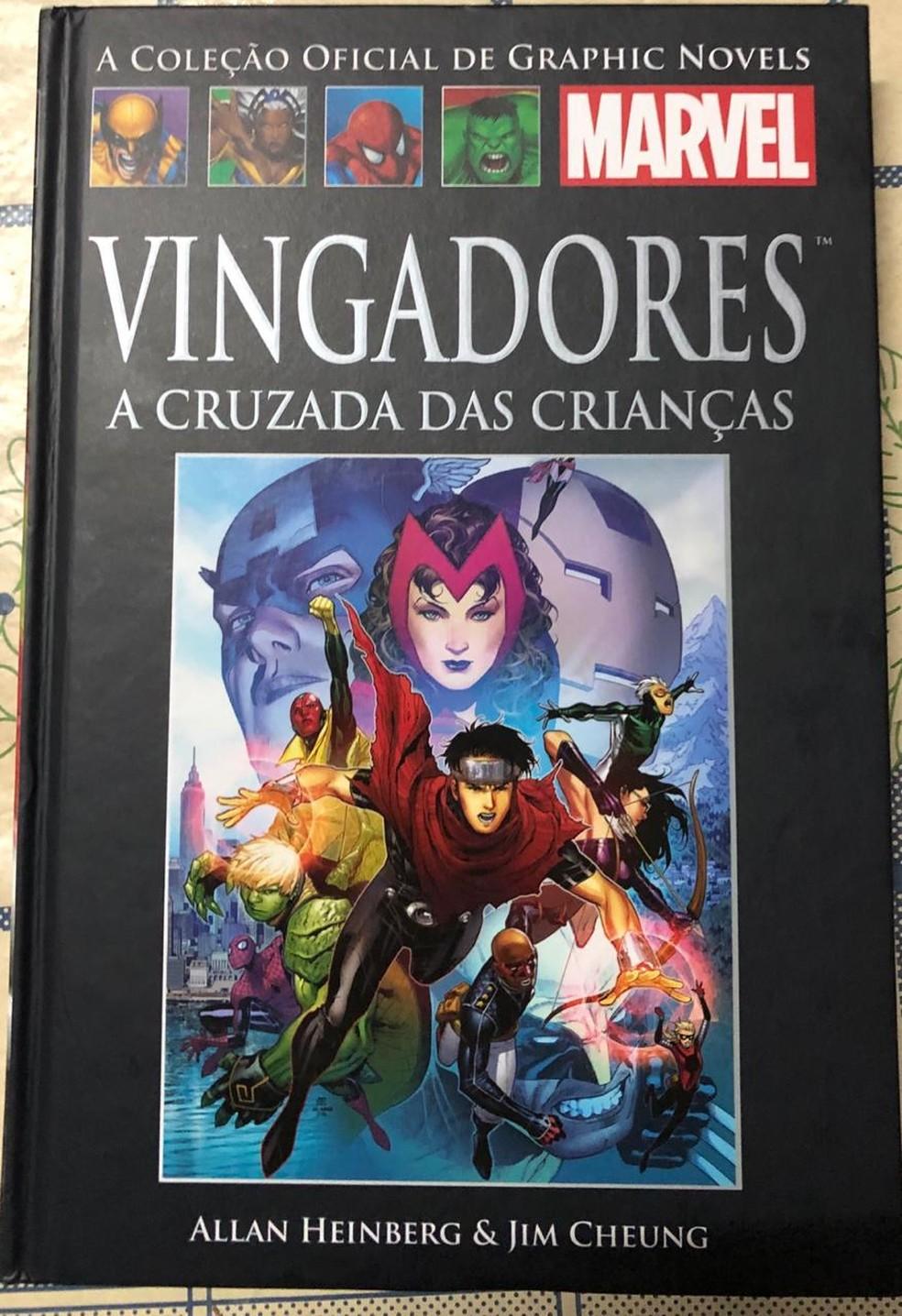 Crivella manda recolher da Bienal livro dos Vingadores — Foto: Reprodução/Redes Sociais