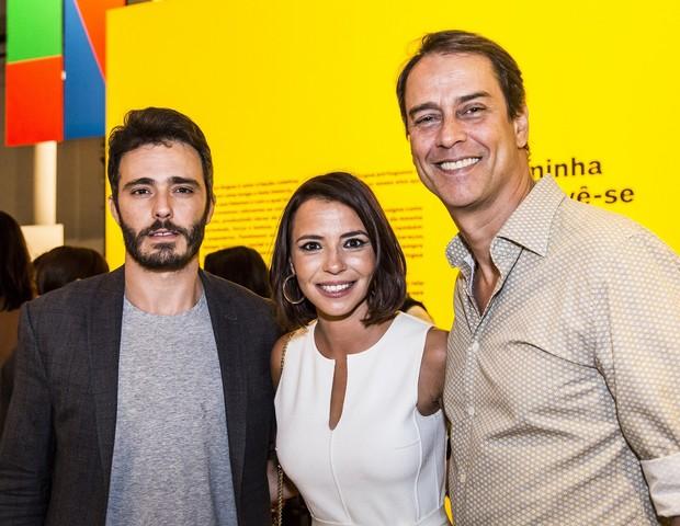 Thiago Rodrigues, Teresa Tavares e Marcello Antony (Foto: Hermes de Paula/Fundação EDP)