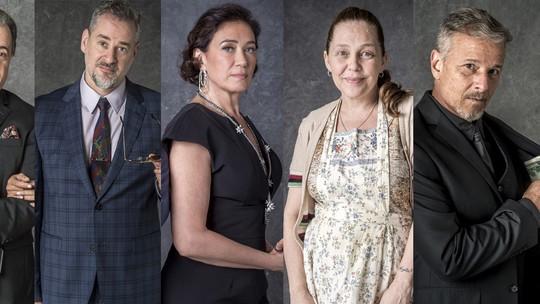 Suspeitos da novela 'O Sétimo Guardião' têm antecedentes criminais na TV, confira!