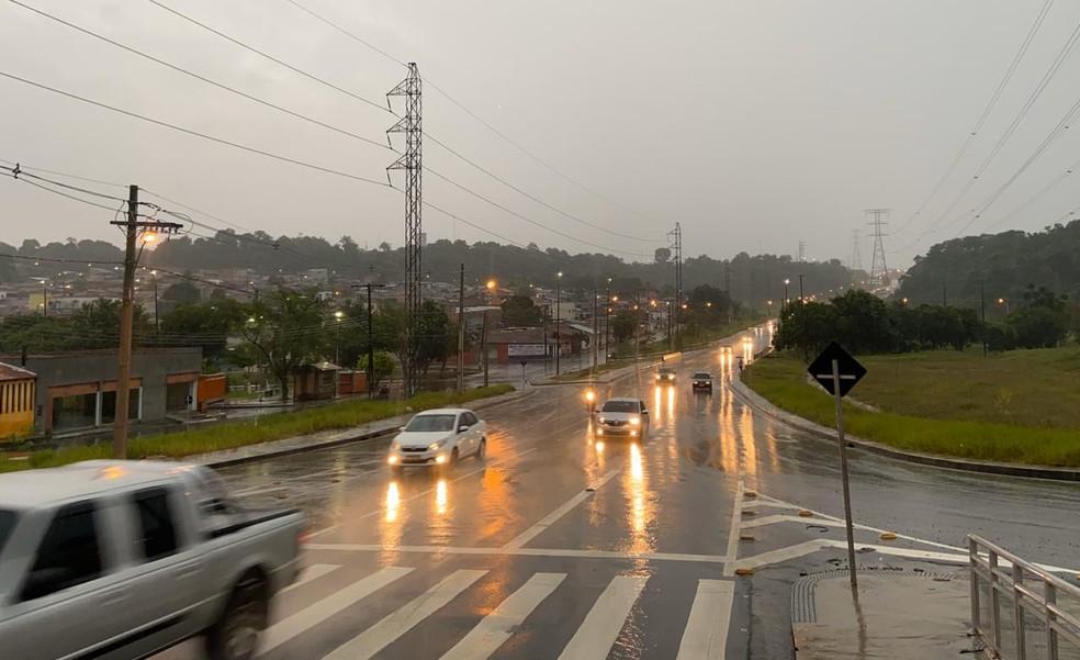 Fortes chuvas devem atingir cidades do interior do estado.  — Foto: Patrick Marques/G1 AM