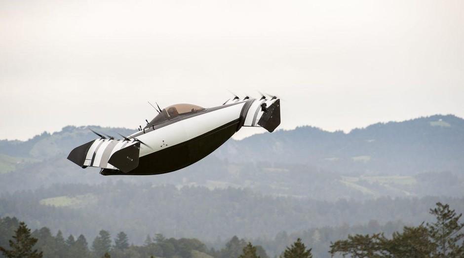 O carro voador Blackfly, da Opener: apoio de Larry Page (Foto: Divulgação)
