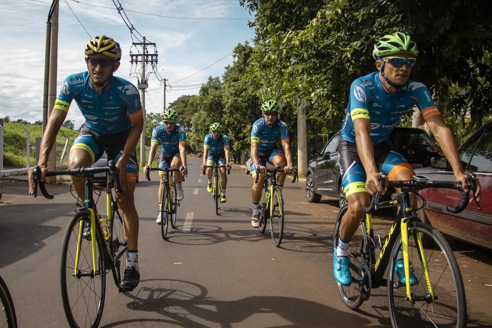 Equipe de Ciclismo de Ribeirão Preto lidera ranking nacional — Foto: Divulgação