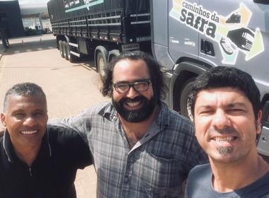 equipe-caminhos-da-safra-selfie (Foto: Fernando Martinho/Ed.Globo)