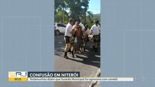 Vídeo mostra confusão entre camelôs e guardas municipais em Niterói, RJ