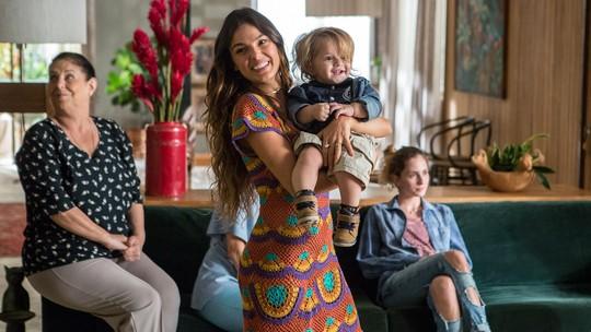 Mãe na ficção, Isis Valverde comenta como se imagina na maternidade: 'Acho que vou ser durona'