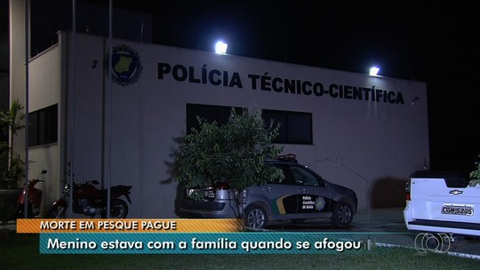 Menino morre afogado após cair em tanque de pesque-pague em Guapó, GO