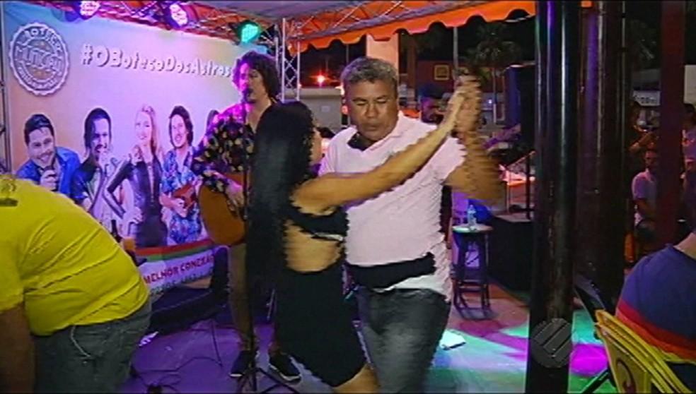Festa de brega paraense — Foto: Reprodução/TV Liberal