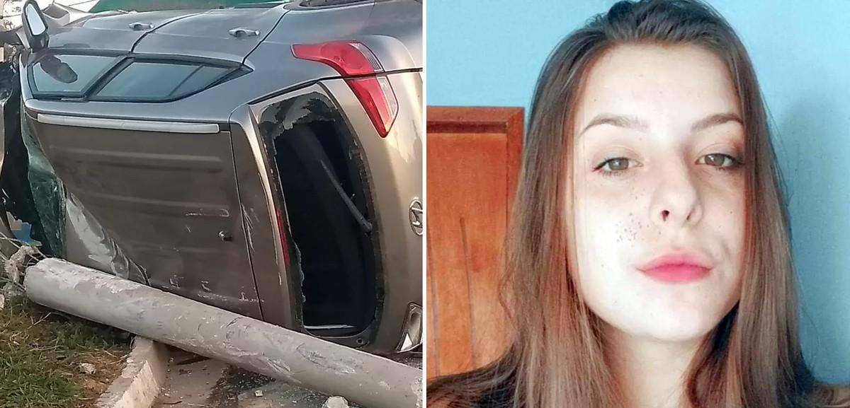 Jovem muda versão e admite que dirigia carro que capotou e matou amiga de 20 anos, diz delegado – G1