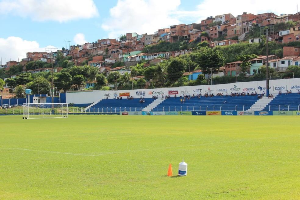 CSA deve deixar o Mutange em março deste ano — Foto: Denison Roma/GloboEsporte.com